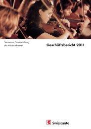 Geschäftsbericht 2011 - Kantonalbanken