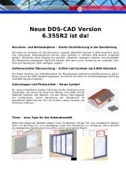 Neue DDS-CAD Version 6.35SR2 ist da!