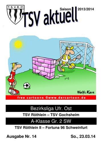 TSV aktuell Nr. 14 2013/14