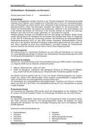 US-Rindfleisch / Rückstände von Hormonen - Bereich ...