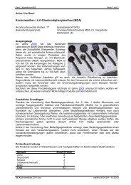 Diaminodiphenylmethan (MDA) - Kantonales Laboratorium
