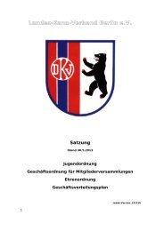 Satzung des Landes-Kanu-Verband Berlin e.V