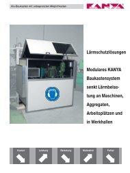 PDF-Datei ansehen / downloaden - KANYA Deutschland GmbH
