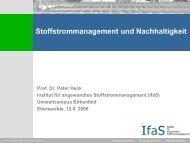Vortrag Prof. Dr. Peter Heck - Kanzlernet.de
