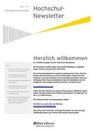 Ausgabe 1/2012 - Ernst & Young