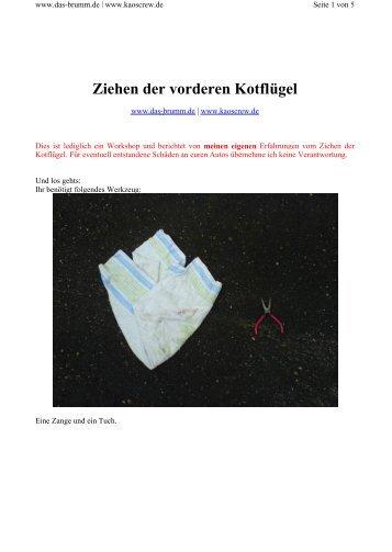 VA Ziehen - KC! Kaos Crew...www.kaoscrew.de...