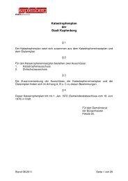 Katastrophenplan der Stadt Kapfenberg - Stadtgemeinde Kapfenberg