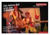 Derkleine Bär unddas Zirkusfest - Stadtgemeinde Kapfenberg