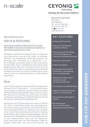 Archivierung für SAP - Ceyoniq Technology GmbH