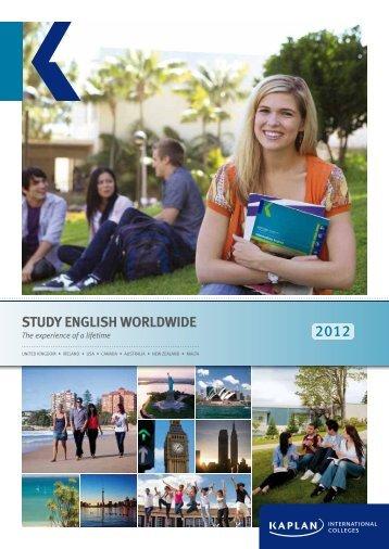 STUDY ENGLISH WORLDWIDE - polskA-Anglia.co.uk
