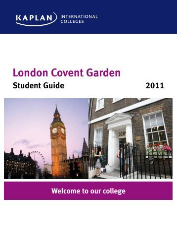 London Covent Garden - Kaplan International Colleges