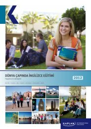 dünya çapında ingilizce eğitimi - Kaplan International Colleges