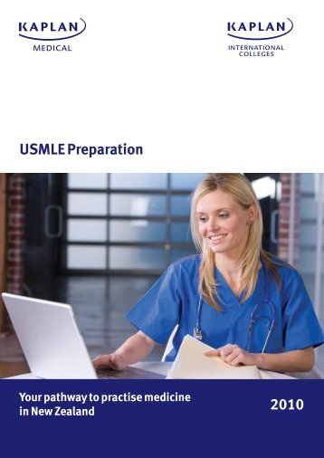 USMLE Preparation 2010 - Kaplan International Colleges