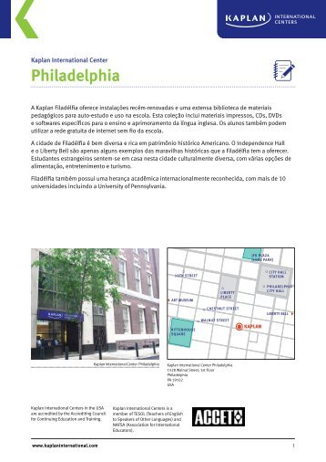 Philadelphia - Kaplan International Colleges