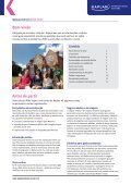 Manual para os pais 2012 - Kaplan International Colleges - Page 2