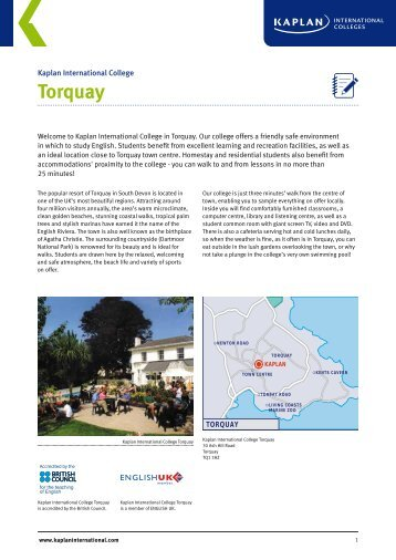 Torquay - Kaplan International Colleges