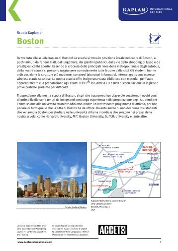 Boston - Kaplan International Colleges