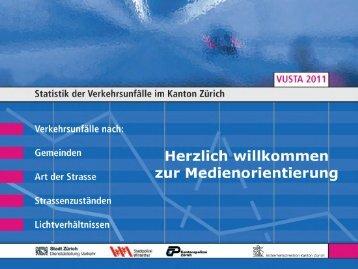 Titelblatt - Kanton Zürich