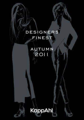 DESIGNERS FINEST AUTUMN 2011 - KappAhl