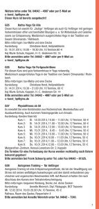 Kulturangebote in der Stadt Kappeln (pdf ca. 3.5 Mb) - Seite 7