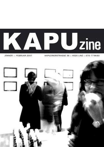 4020 linz ::: 070 -77 96 60 jänner ::: februar 2007 - Kapu