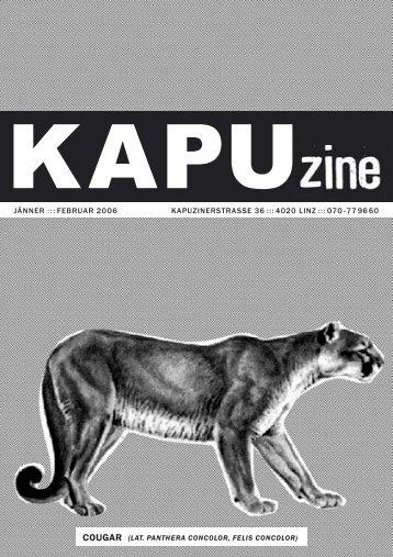 COUGAR - Kapu