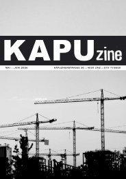 4020 linz ::: 070 -77 96 60 mai ::: juni 2006 - Kapu