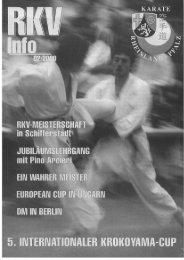 RKV-Info 2/2000 - BEIM RHEINLAND-PFÄLZISCHEN KARATE ...
