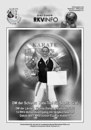 DM der Schüler: Kata-Titel für Sophia Graf DM der Schüler - BEIM ...