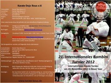 21. Internationale Bambini Turnier 2012