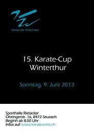 15. Karate-Cup Winterthur - Sportdata.org