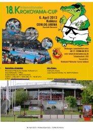 Ausschreibung - Krokoyama Cup