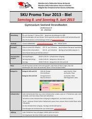 SKU Promo Tour 2013 - Biel