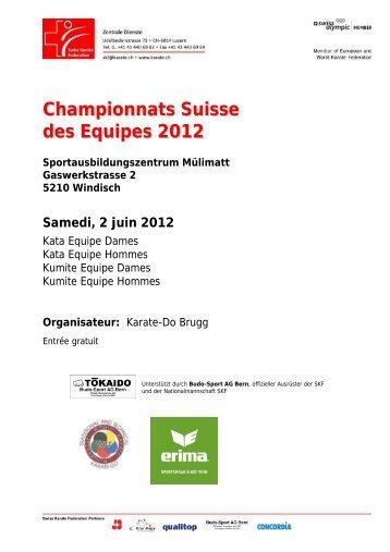 Championnats Suisse des Equipes 2012