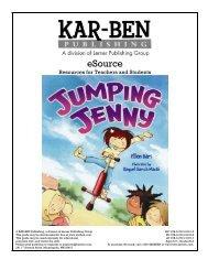 Jumping Jenny - Kar-Ben Publishing