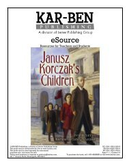 Janusz Korczak's Children - Kar-Ben Publishing