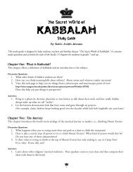 The Secret World of Kabbalah - Kar-Ben Publishing