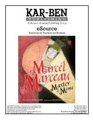 Marcel Marceau - Kar-Ben Publishing