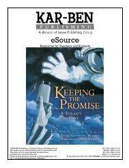 Keeping the Promise - Kar-Ben Publishing