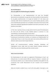 Die Chytridiomykose: Eine neue gefährliche Pilzerkrankung ... - karch