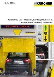 Kärcher CB Line - Modernit, käyttäjäystävälliset ja varmatoimiset ...