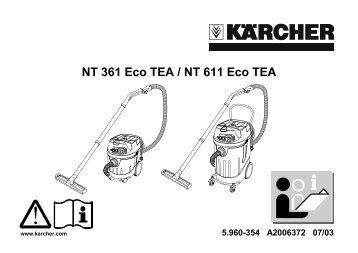NT 361 Eco TEA / NT 611 Eco TEA - Kärcher