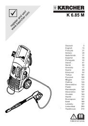 K 6.85 M - Karcher