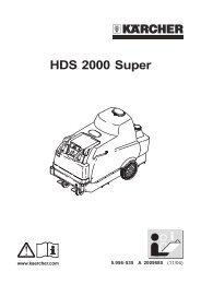 HDS 2000 Super - Karcher