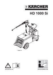 HD 1000 Si - Karcher