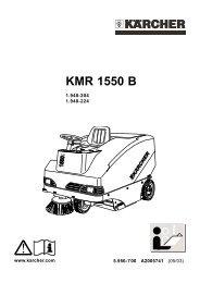 KMR 1550 B - Karcher