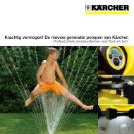 De nieuwe generatie pompen van Kärcher. - Karcher Center Autovak