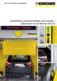 autowassen met de Kärcher CB Line - Karcher Center Autovak