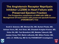 The Angiotensin Receptor Neprilysin Inhibitor LCZ696 in ... - Kardio.hr