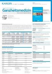 Preisliste Nr. 3 Gültig ab 01.01.2012 Phytotherapie - Karger